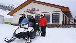 - Keltepe Kayak Merkezi hizmete girdi