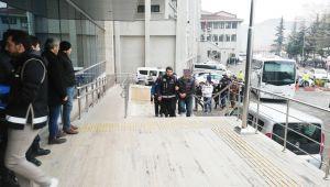 Zonguldakmerkezli tefecilik operasyonunda 7 tutuklama