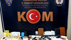 -Zonguldak'ta tefeci operasyonu; 10 gözaltı
