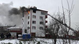 - Alaplı'da hortum yangın çıkarttı