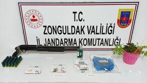 Jandarmadan uyuşturucu operasyonu: 5 gözaltı