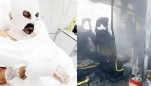 - Öğrenci servisini kundaklayan kadın tutuklandı