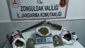-Zonguldak'ta 5 kilogram esrar ele geçirildi