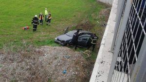50 metre sürüklenen araçtan cansız bedeni çıktı