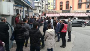 Zonguldaklı vatandaşlar uyarılara aldırış etmedi