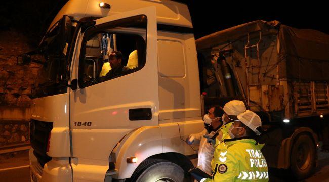 -Zonguldak'a giriş ve çıkışlara izin verilmiyor