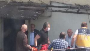 3 kattan düşen çocuk hastaneye kaldırıldı