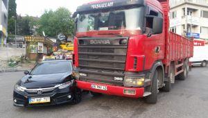 - Belediye Meclis üyesi kaza geçirdi