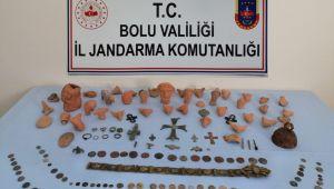 Bolu'da tarihi eser operasyonu: 2 gözaltı