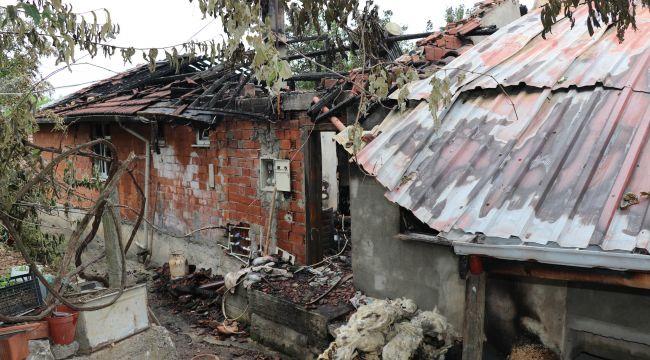 - Evleri yanan Karameşe ailesi yardım bekliyor