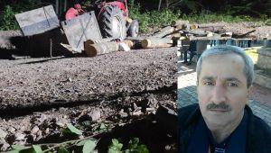 - Traktör devrildi, 1 kişi hayatını kaybetti