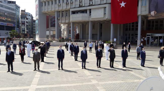 Zonguldak'ta 19 Mayıs Bayramı törenle kutlandı