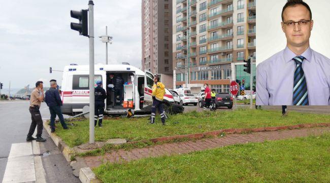 - Ambulansla otomobil çarpıştı: 1 ölü, 1 yaralı