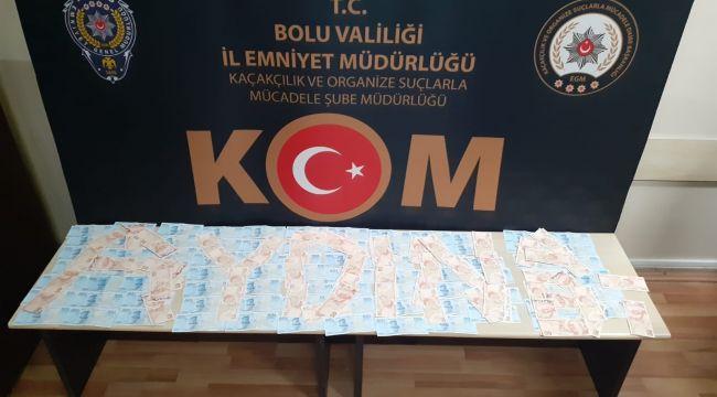 - İl il gezen şahısların üzerinde 15 bin 350 liralık sahte para yakalandı
