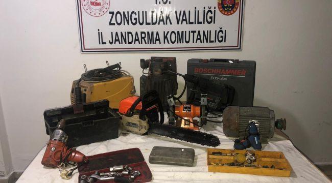 - Jandarma 2 yıl önceki hırsızlık olayını çözdü