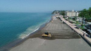 - Karadeniz sahilleri sezona hazırlanıyor