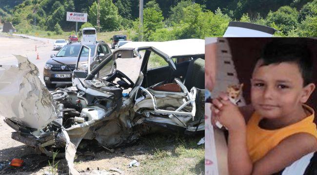 - Kazada ölen 10 yaşındaki Eymen'e gözü yaşlı veda