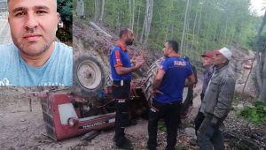 - Kullandığı traktörün altında kaldı