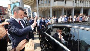- Mülkiye Başmüfettişliğine atanan Vali Bektaş,Zonguldak'tan ayrıldı