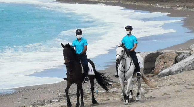 -Zonguldak'ta atlı jandarma timi görevine başladı