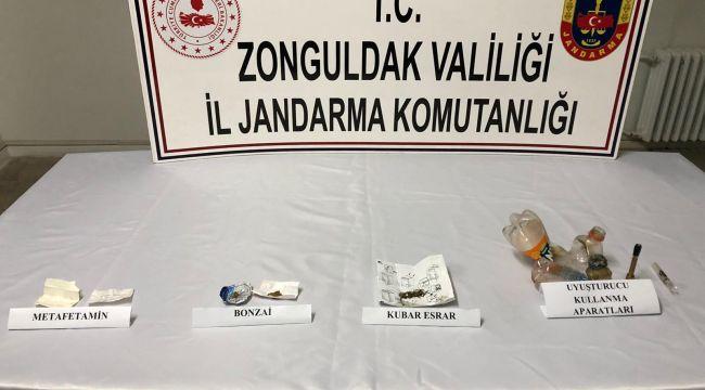 -Zonguldak'ta uyuşturucu operasyonu: 2 gözaltı