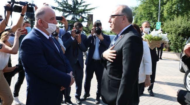 -ZonguldakValisi Mustafa Tutulmaz görevine başladı