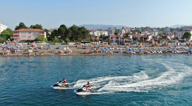 - Batı Karadeniz sahillerine güvenlik dubaları yerleştirildi