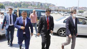 GELECEK PARTİ GENEL BAŞKAN YARDIMCISI ALAPLI'DAYDI..
