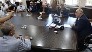 -Zonguldak, Basın Vakfı üyesi gazetecileri ağırladı