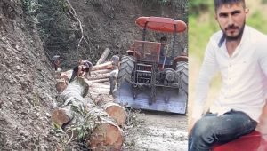 - Ağacın altında kalan orman işçisi yaşamını yitirdi