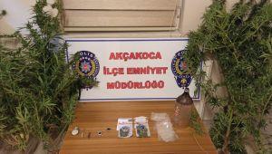 - Akçakoca'da uyuşturucu operasyonu