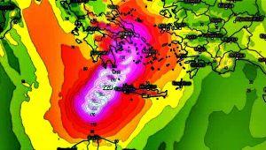 Bazı modeller, fırtınanın rotasında Türkiye'yi işaret ediyor