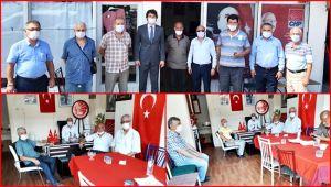 Ereğli CHP Örgütünden Gülüç CHP'ye ziyaret