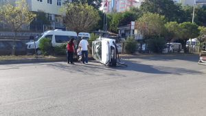 - Sahil yolunda kaza: 1 yaralı