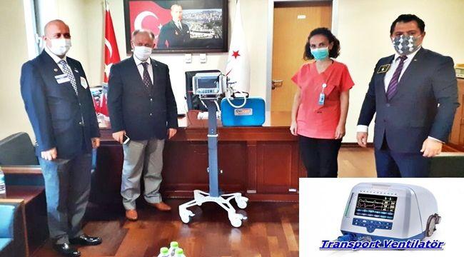 Hastaneye 100 bin liralık bağış