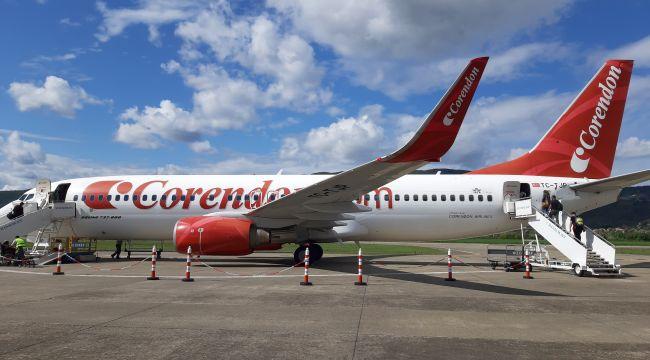 ZonguldakHavalimanı sezonun son uçağını uğurladı