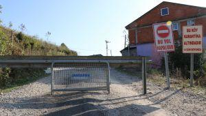 589 nüfuslu köy karantinaya alındı giriş ve çıkışlar kapatıldı