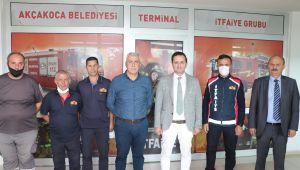 Akçakoca Belediyesi ikinci itfaiye birimini kurdu
