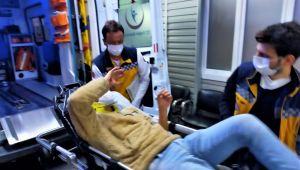 - Motosiklet uçuruma yuvarlandı: 2 yaralı