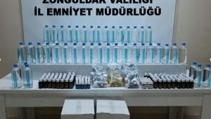 -Zonguldak'ta kaçak içki operasyonu