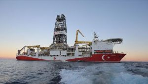 Karadeniz'de Fatih'in matkabı dönmeye başladı