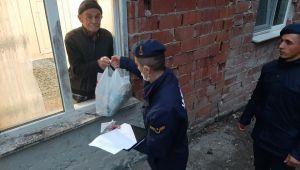 Jandarma ekipleri 56 saatte 211 ihtiyacı karşıladı