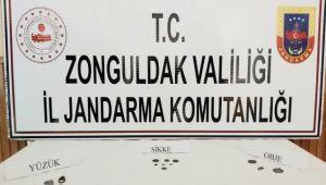 Jandarmadan kaçak kazı operasyonu