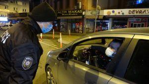 -Zonguldak'ta 56 saatlik sokağa çıkma kısıtlaması başladı
