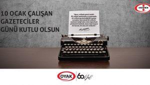 ERDEMİR GAZETECİLERİ KUTLADI...