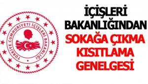 İçişleri Bakanlığı'ndan yeni 'Kısıtlama' açıklaması
