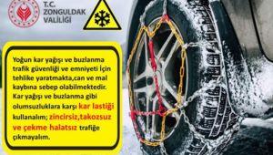 Valilikten araç sürücülerine uyarı