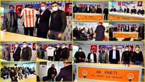 Batı Karadeniz Romanlar Derneği'nden AK Parti'ye ziyaret