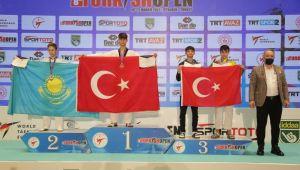 Ereğlili sporcu uluslararası turnuvada şampiyon oldu