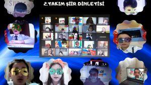 Türkiye ve Azerbaycan'dan Öğrenciler Dinletide Buluştu